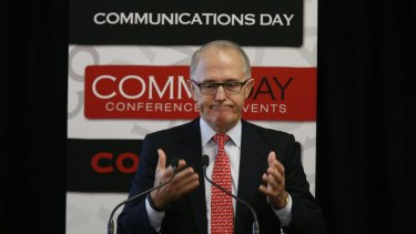 ABC cuts: Communications Minister Malcolm Turnbull.