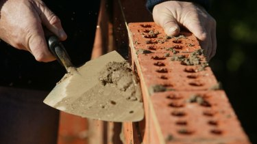 Bricklaying is among the occupations on the medium and long-term strategic skills list.