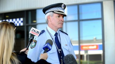 Inspector Bryson Anderson, who was stabbed to death in Sydney's north-west in December 2012.