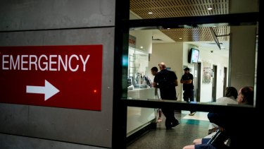 Hospital EDs in Sydney's south-west have been inundated with huge numbers of patients at the height of flu season.