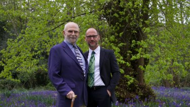 Bill Hayes (right) was not just falling in love with Oliver Sacks, but was undergoing an entirely new emotional experience – one of adoration.