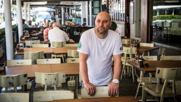 """Restaurant 317 owner Pierre Sande expects the construction to be """"very damaging"""" for businesses along Eat Street."""