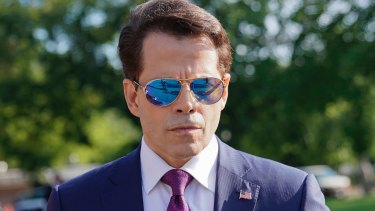 Anthony Scaramucci, from the so-smooth-he's-slippery school of PR.