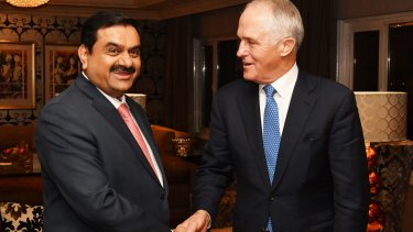 Adani has parted ways with construction contractor Downer.