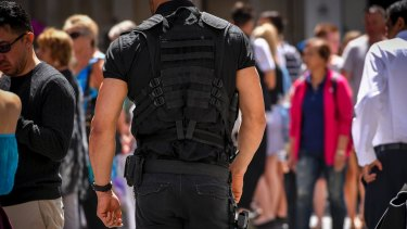 The Victoria Police LRD is responsible for regulating the security and firearm sectors.
