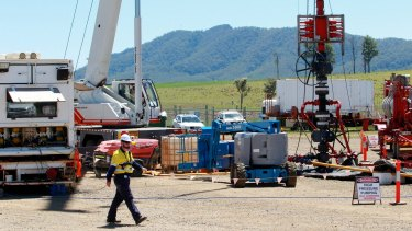Waste not want not: AGL's CSG operations in Gloucester.