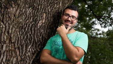 Youssef Darwish, a Syrian refugee, has been living in Sydney for more than a year.