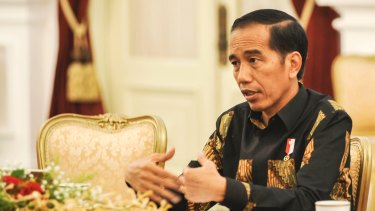 "Jokowi, as he is universally known, says ""there is no compromise on sovereignty""."