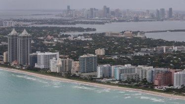Miami Beach in Florida - one place exposed to rising sea levels.