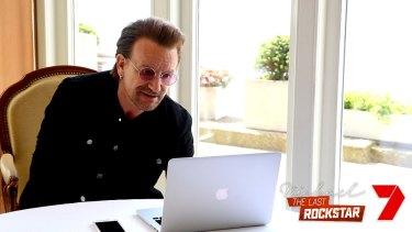 Bono in the new documentary.