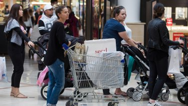 The ABS reports retail sales up 3.1 per cent in the year to September 2016.