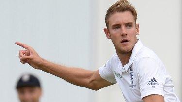 Eight-wicket haul: Stuart Broad.