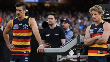 How will Adelaide's loss of personnel impact the team's performance in 2018?