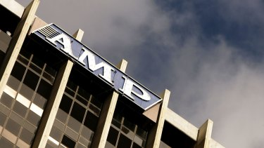 AMP's shares have fallen the most in three years.