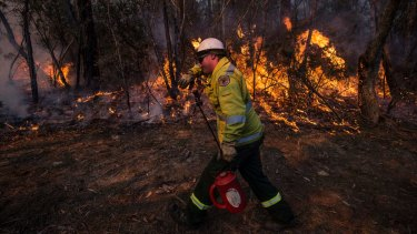 Fire authorities have a narrow window to conduct hazard-reduction burns before conditions become more risky.