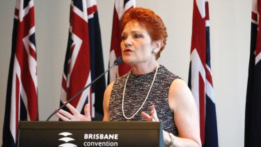 Pauline Hanson told the One Nation AGM the party had candidates in 53 of 93 seats.