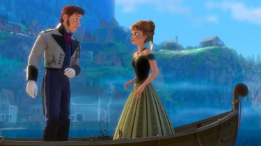 Disney films such as Frozen could be available on the Hollywood giant's own Australian streaming service