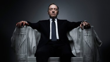 Original programming:  Netflix's <i>House of Cards</i>.