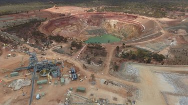 Mineral Resources has a  43.1 per cent stake the Mount Marion lithium mine in Western Australia.