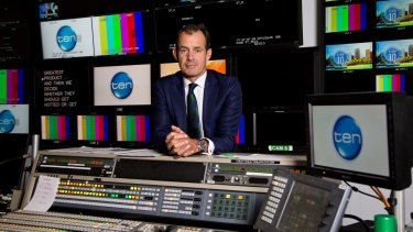 Channel Ten chief executive Paul Anderson is still in charge of Ten even though administrators have been appointed.