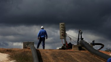 High costs hurt investment: There's a lack of new oil and gas projects on the horizon.