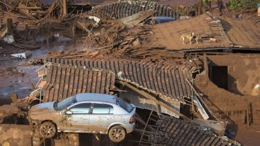 Samarco was working with police, firefighters and other rescue workers to help the injured and homeless.