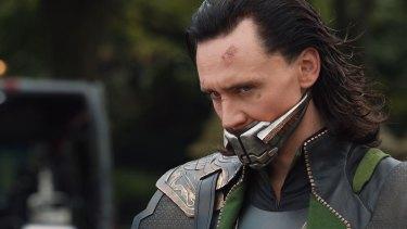 Hiddleston as Loki in Marvel's <i>Thor</i>.
