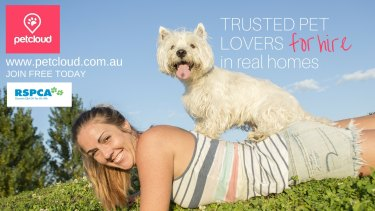 The online pet sitting service is the only one to have RSPCA endorsement.