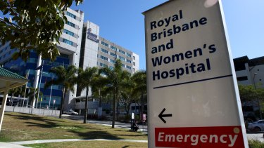 Two nurses at the Royal Brisbane and Women's Hospital were seriously assaulted.