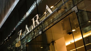 Group Zara Australia is 90 per cent owned by its Spanish parent, Inditex.