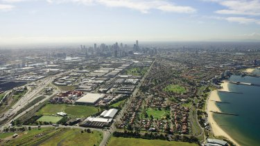 Fishermans Bend has seen a dramatic increase in land values since it was rezoned in 2012.