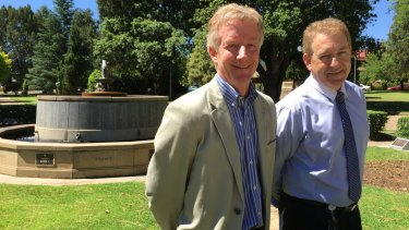 Armidale Regional Council economic development project managers Tony Broomfield and Harold Ritch have been tasked with smoothing the transition?to the city.