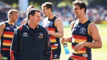 John Worsfold: Adelaide's caretaker coach.