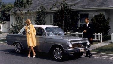 Holden's EH sedan in the 1960s.