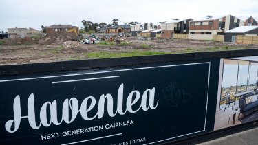 Waste from the Corkman pub was dumped at new luxury development site called Havenlea in Cairnlea.
