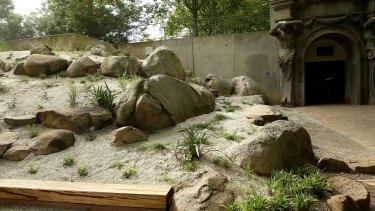 The Ellis Stones garden in Melbourne University.