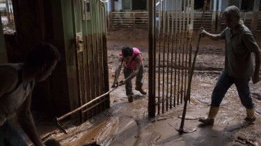 Samarco said 601 people were placed in hotels in the area as the army, police and firefighters engaged in relief efforts.