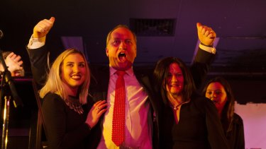 Nationals Leader and Deputy Prime Minister Barnaby at Wests Tamworth Leagues Club.