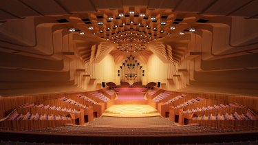 The Concert Hall is undergoing a major renovation.