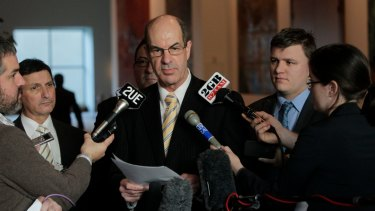Outgoing Labor MP Kelvin Thomson in 2011, when he called for stun gun standards in the live export industry.