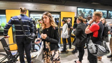 Sydney's train network is under strain from a fast-growing population.