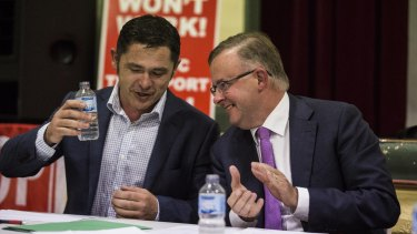 Greens candidate Jim Casey and Labor MP Anthony Albanese went head to head at a forum on WestConnex held in Balmain on Thursday night.