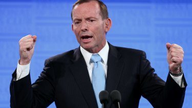 'Malcolm Turnbull made a clear election commitment', says former PM Tony Abbott.