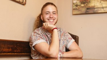 Transgender activist Nevo Zisin: 'Nothing's black and white. I'm a normal human being,' he says.