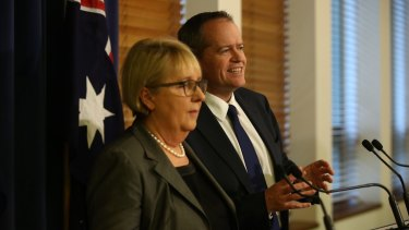 Opposition Leader Bill Shorten and Jenny Macklin say Labor will oppose the government's pension plan on Tuesday.