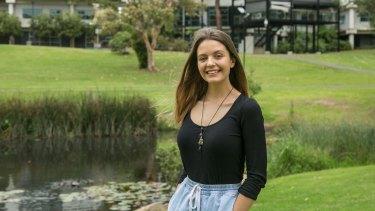 Macquarie University anthropology student Gabriel Imbrailo.