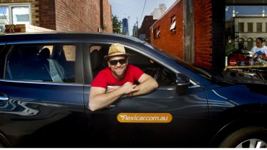 Craig Lambie is a committed user of Port Phillip's expanding car share service.