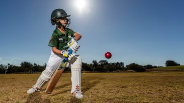 Big changes: George Gianoutsos will play junior format cricket this season.