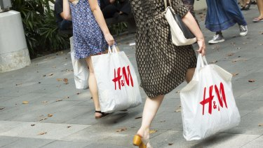 H&M reported the first monthly sales drop in almost four years.