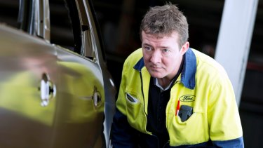 Ford Australia employee Andrew Owens.
